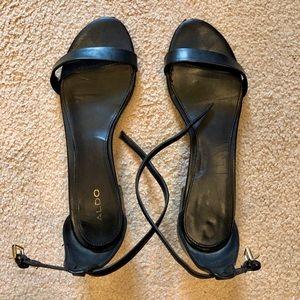 Black Strappy Sandals size 10
